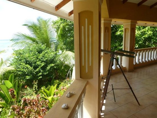 Villa Dorado : Balkon