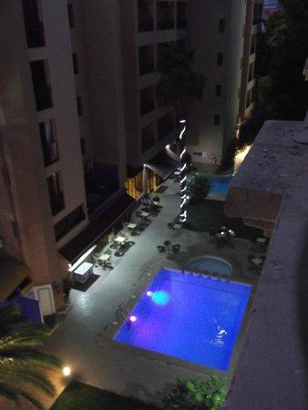 Meriem Hotel: Vue de la chambre