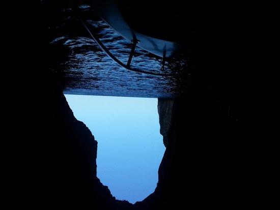 Mayor Capo Di Corfu : Les grottes marines avec le bateau de la base nautique