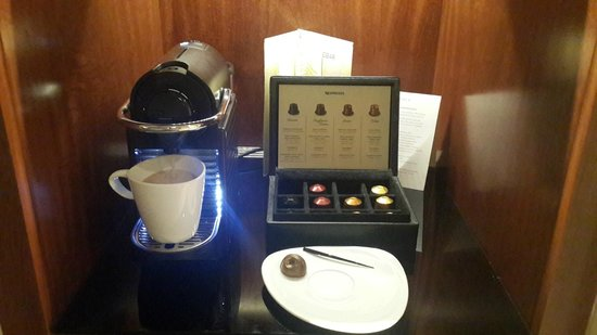 Alvear Art Hotel: Nespresso