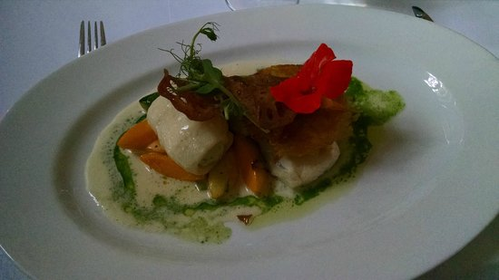 Pihlkjaer : Fish main course - too many flavors at once for my taste