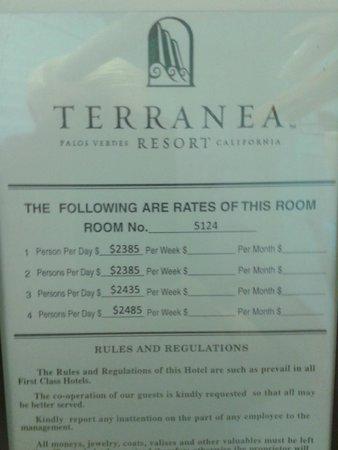 Terranea Resort : Prices!