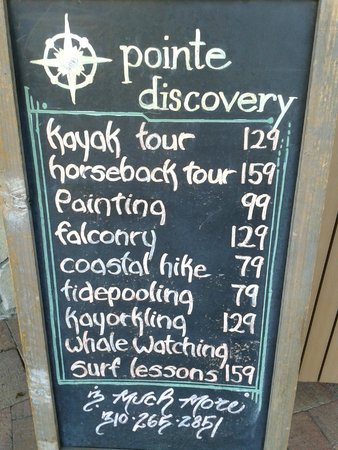 Terranea Resort : Optional tours & adventures