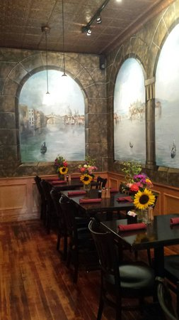 Cafe D'italia: Inside dining