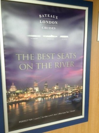 Bateaux London : does what it says on the tin!
