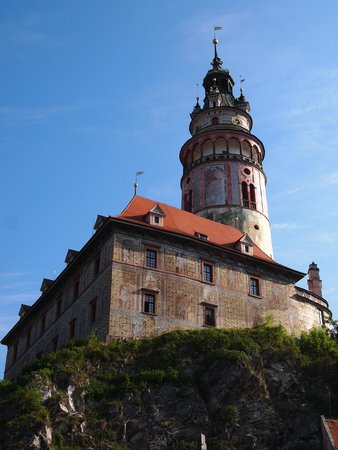 Cesky Krumlov Walking City Tour: Climb up and enjoy the beautiful view here