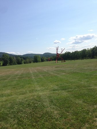Storm King Art Center : A view of the grounds.