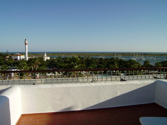 Hotel Fuerte el Rompido: Desde la terraza de la habitación