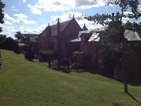 Combermere Abbey: beautiful cottages