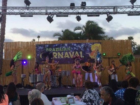 Bahia Resort Hotel: Carnaval entertainment