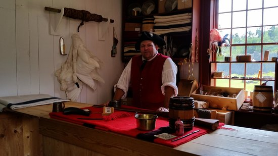 Grand Portage National Monument: In the trading post (located in the Great Hall)