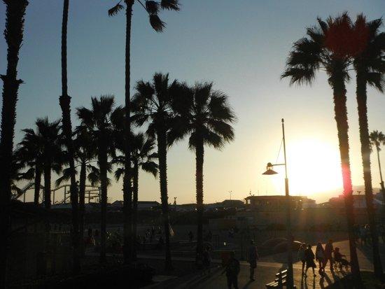 Santa Monica Pier: Nice.