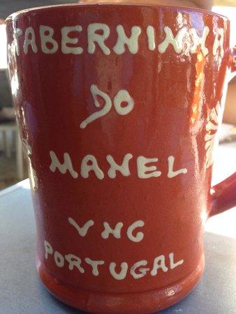 Taberninha Do Manel : La bière est servie dans cette chope