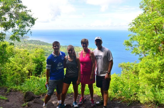 Real St. Lucia Tours : View from trail