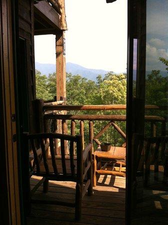 The Lodge at Buckberry Creek: balcony