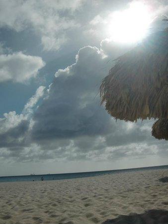 Tropicana Aruba Resort & Casino: playa a una cuadra del hotel