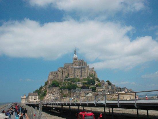 Abbaye du Mont-Saint-Michel : МСМ издалека