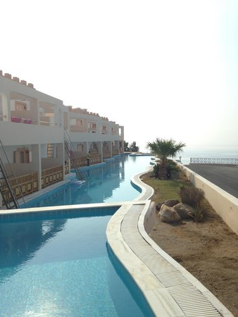 Mitsis Family Village Beach Hotel: View from Shared pool