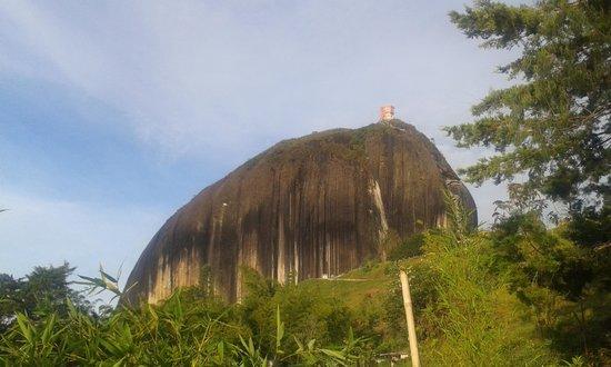 Piedra del Peñol: The rock