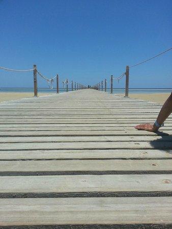 Magic Tulip Beach Resort : IL PONTILE