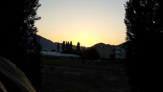 Hotel Rolli : Sonnenuntergang im Hotel