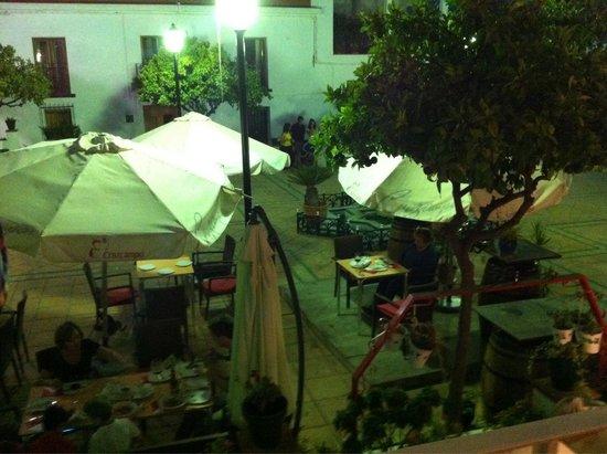 El Arbol Insolito: Terraza del restaurante