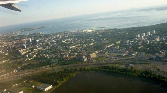 Tallinn Old Town: letzter Blick auf Tallin