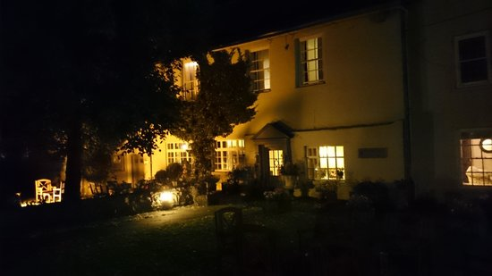The Manor House Hotel: Evening view