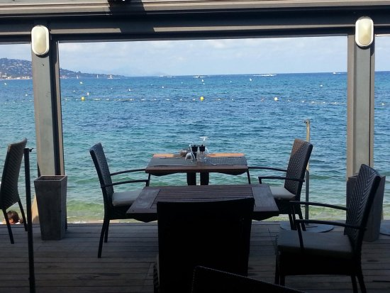 """Hôtel Royal Bon Repos : Le restaurant de la plage """"Le Wyc"""""""