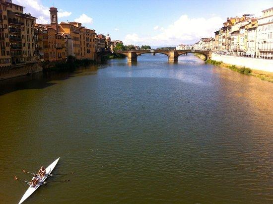 Ponte Santa Trinita from the Ponte Vecchio