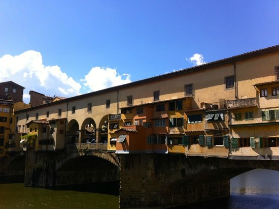 Ponte Vecchio: View from the north east