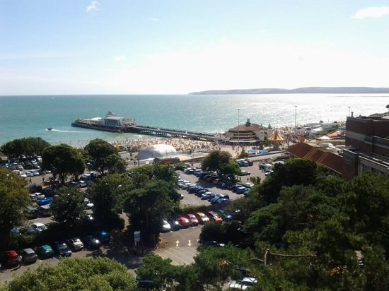 Premier Inn Bournemouth Central Hotel: view from our room