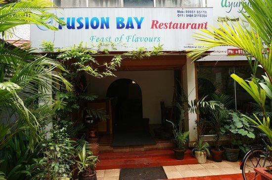Entry way to Fusion Bay, Fort Kochi, Kerala