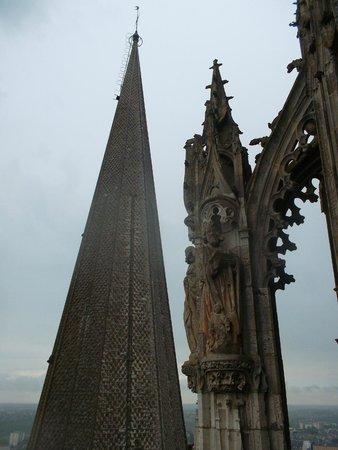 Tour de la Cathédrale de Chartres : Шпили