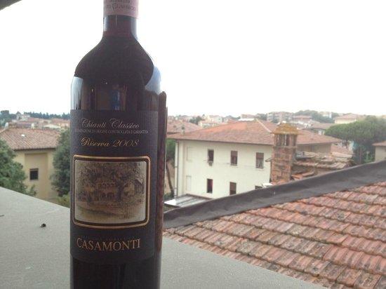 Hotel Italia: Balcony view