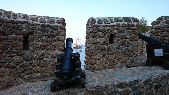 Alanya Kalesi (Castle): cannons