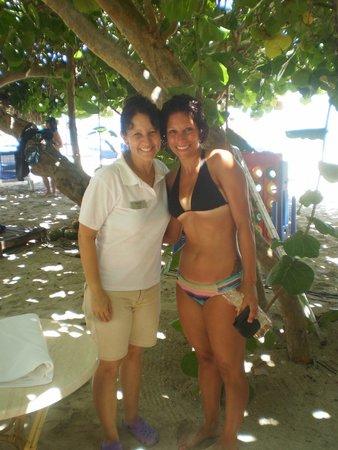 Melia Las Americas: Me and Yaneta