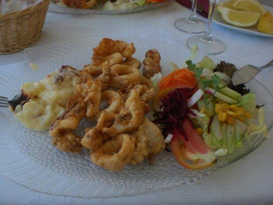 Restaurante Ca'n Maya: Lecker Calamaris