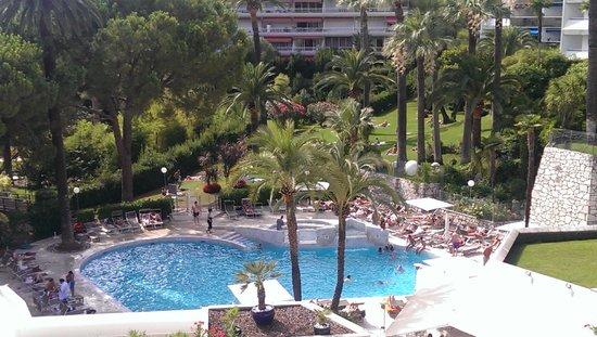 Novotel Cannes Montfleury: view vanuit balkon