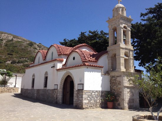 Monastery Tsambika: Цамбика