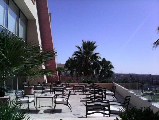 Valle del Este Golf Resort: una de las terrazas