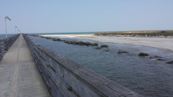 Fort Clinch State Park : Pier