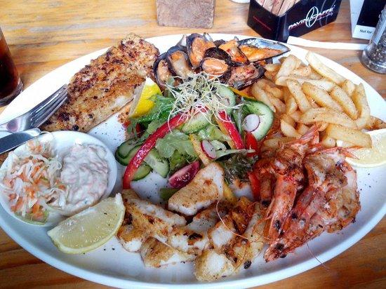 Nina's Real Food: Peixe e frutos do mar
