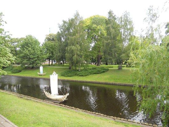 Vermanes Garden Park : laghetto interno al parco