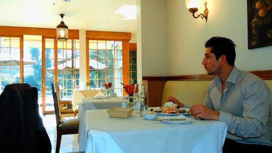Hotel Bidasoa: Almuerzo