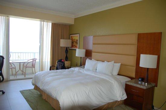 Caribe Hilton San Juan: Our room