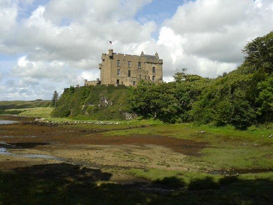 Dunvegan Castle & Gardens: View of the castle