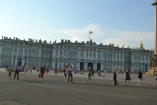 Place du Palais (Dvortsovaya Ploshchad): Дворцовая площадь