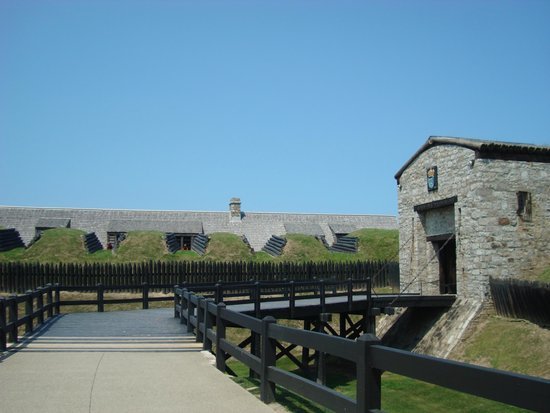 Old Fort Niagara: Fort entrance