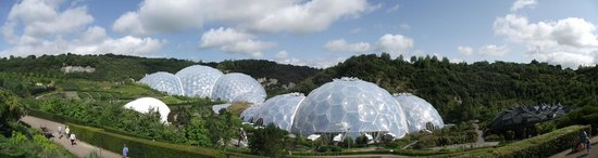 Eden Project: As far as you can see, domes.